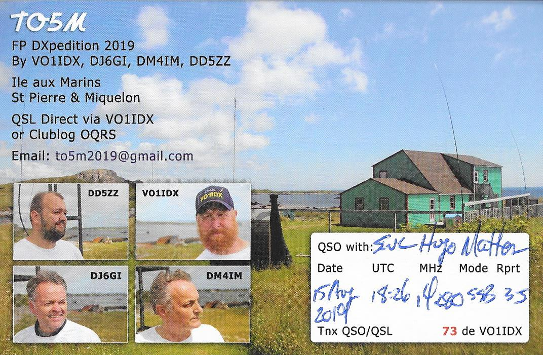 QSL TO5M c